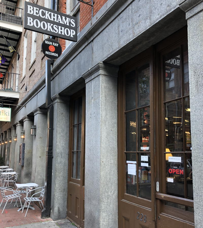Beckham's Bookshop storefront