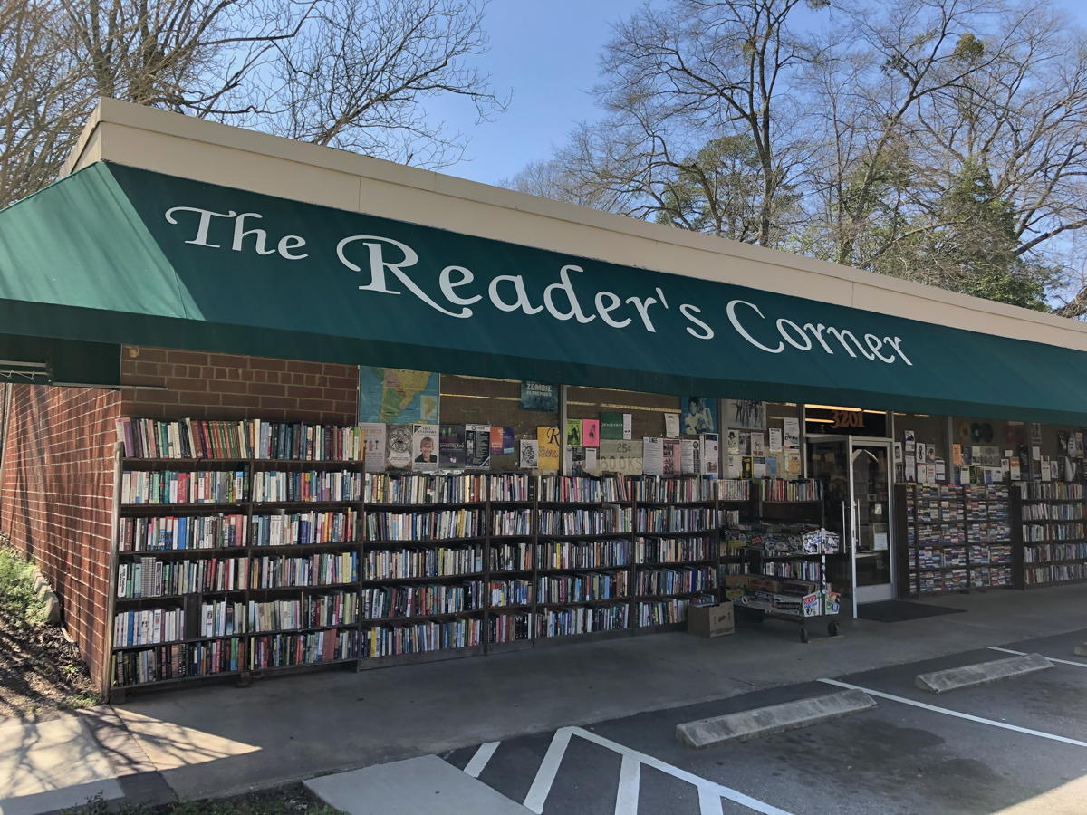 Reader's Corner in Raleigh