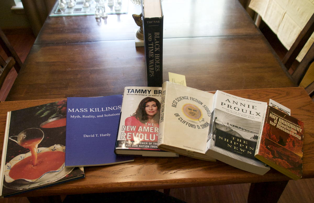 Temple Public Library sale haul 2018