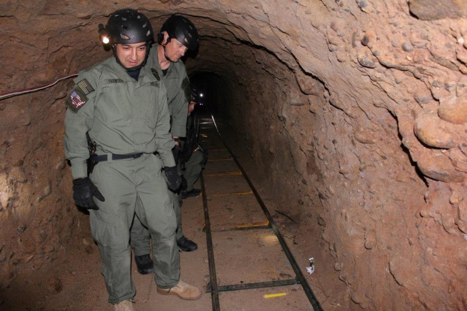 San Diego Tunnel to Smuggle Drugs
