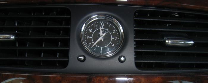 Jaguar XJ8 clock
