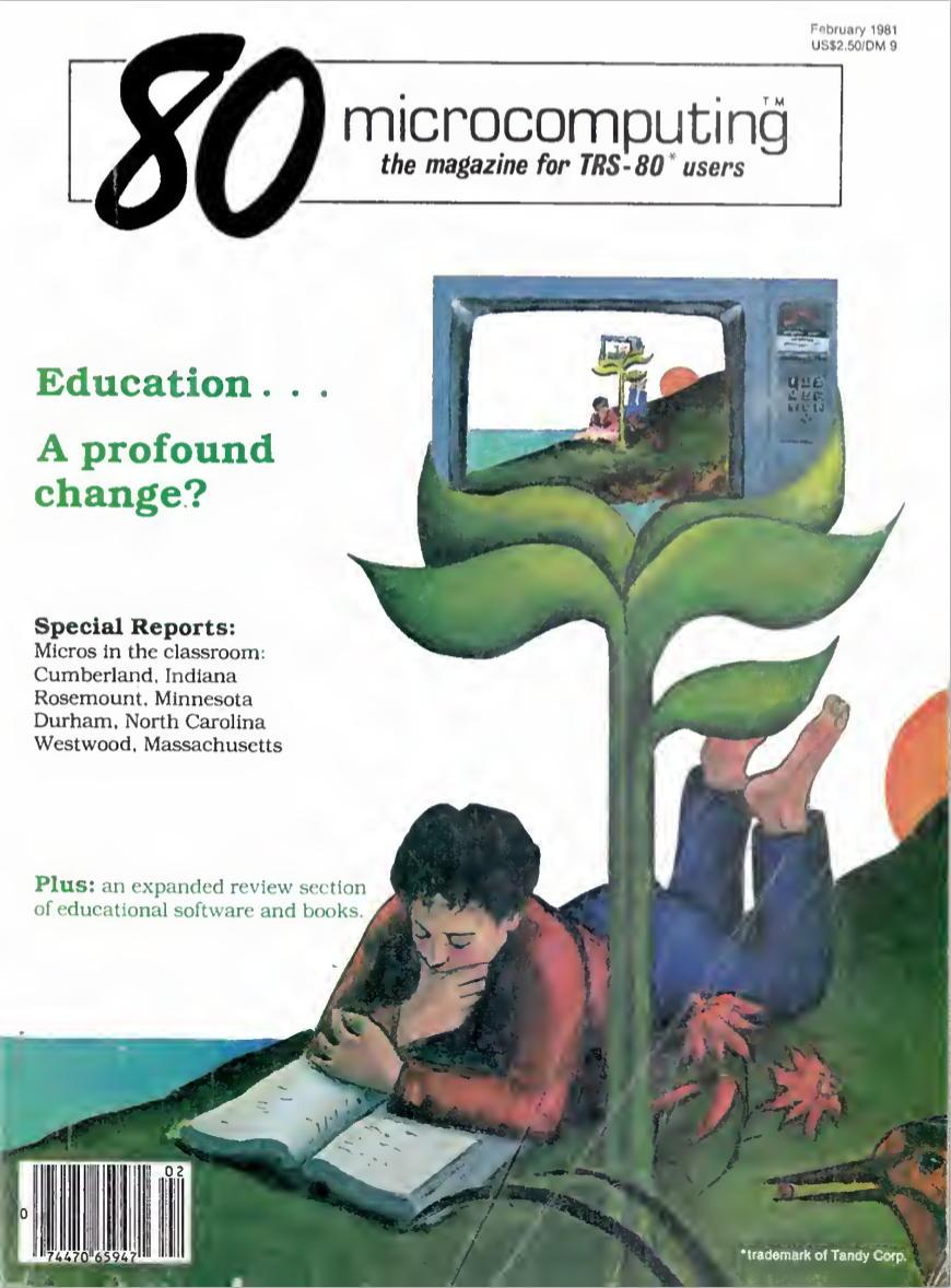 80-Micro February 1981 cover
