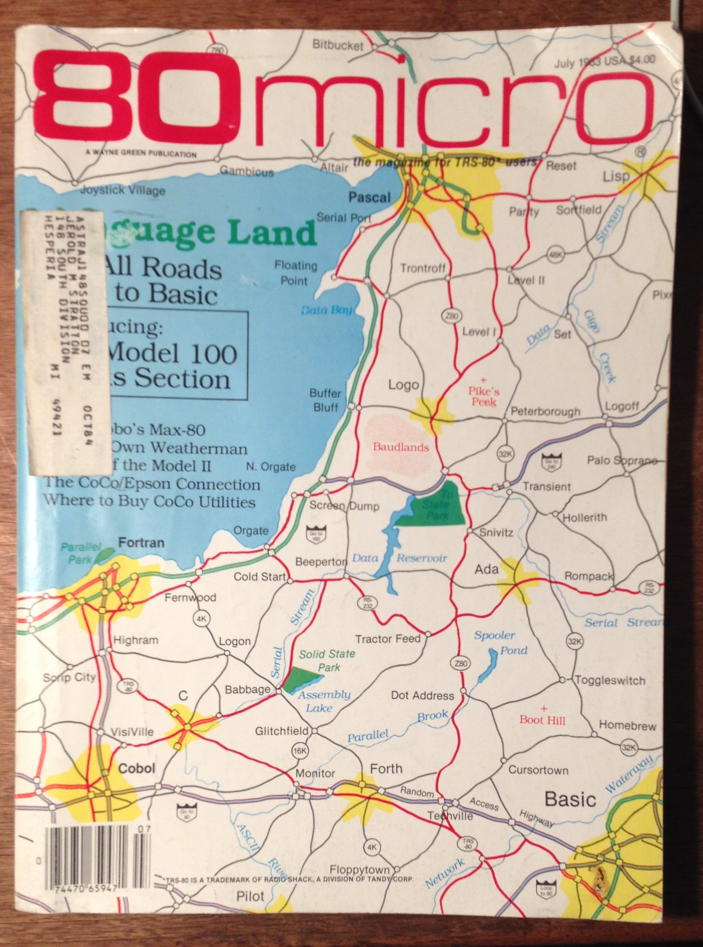 80-Micro July 1983 cover