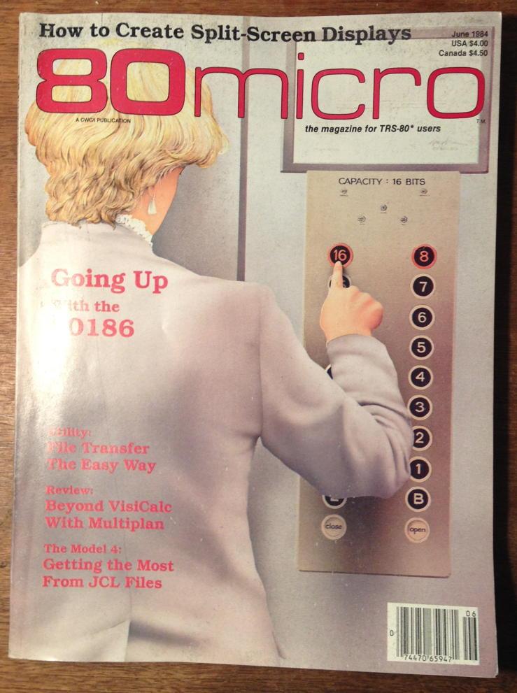 80-Micro June 1984 cover