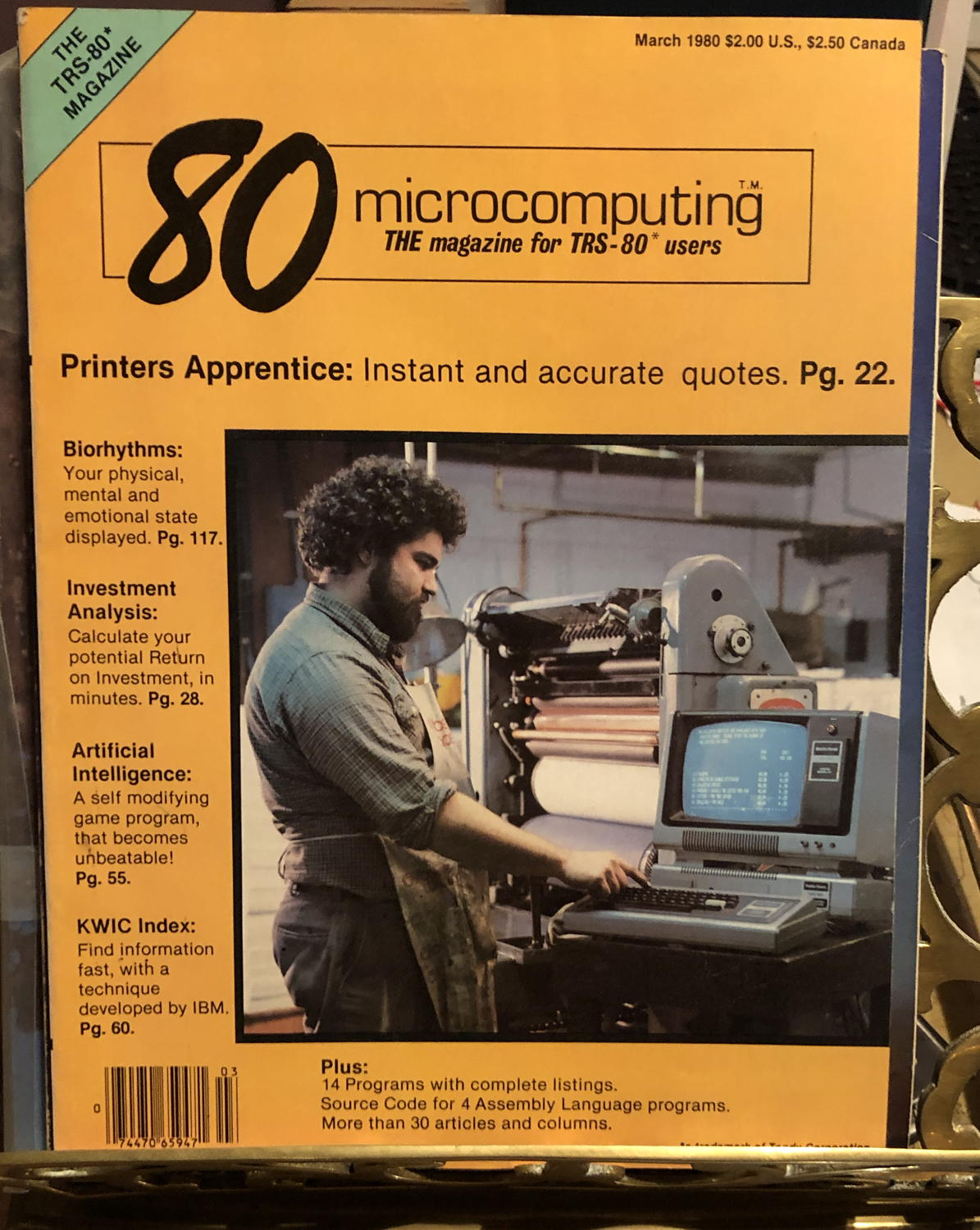80 microcomputing March 1980