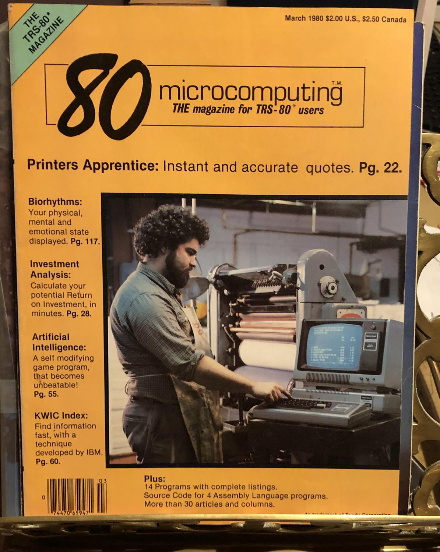 80 microcomputing March 1980