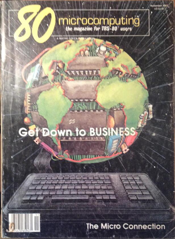 80-Micro November 1981 cover
