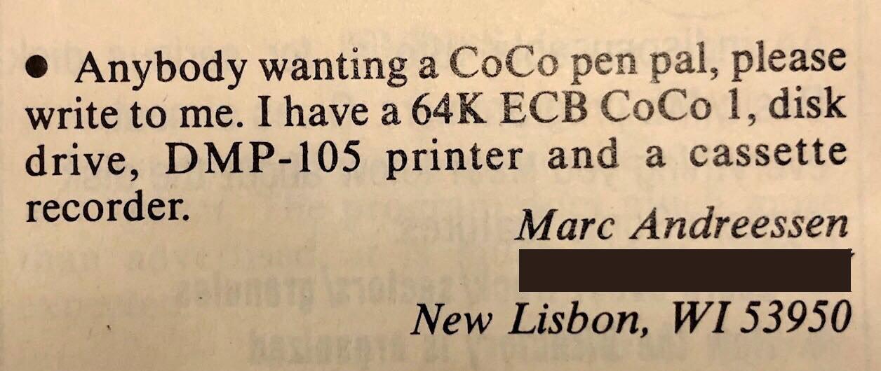 Marc Andreessen Rainbow letter
