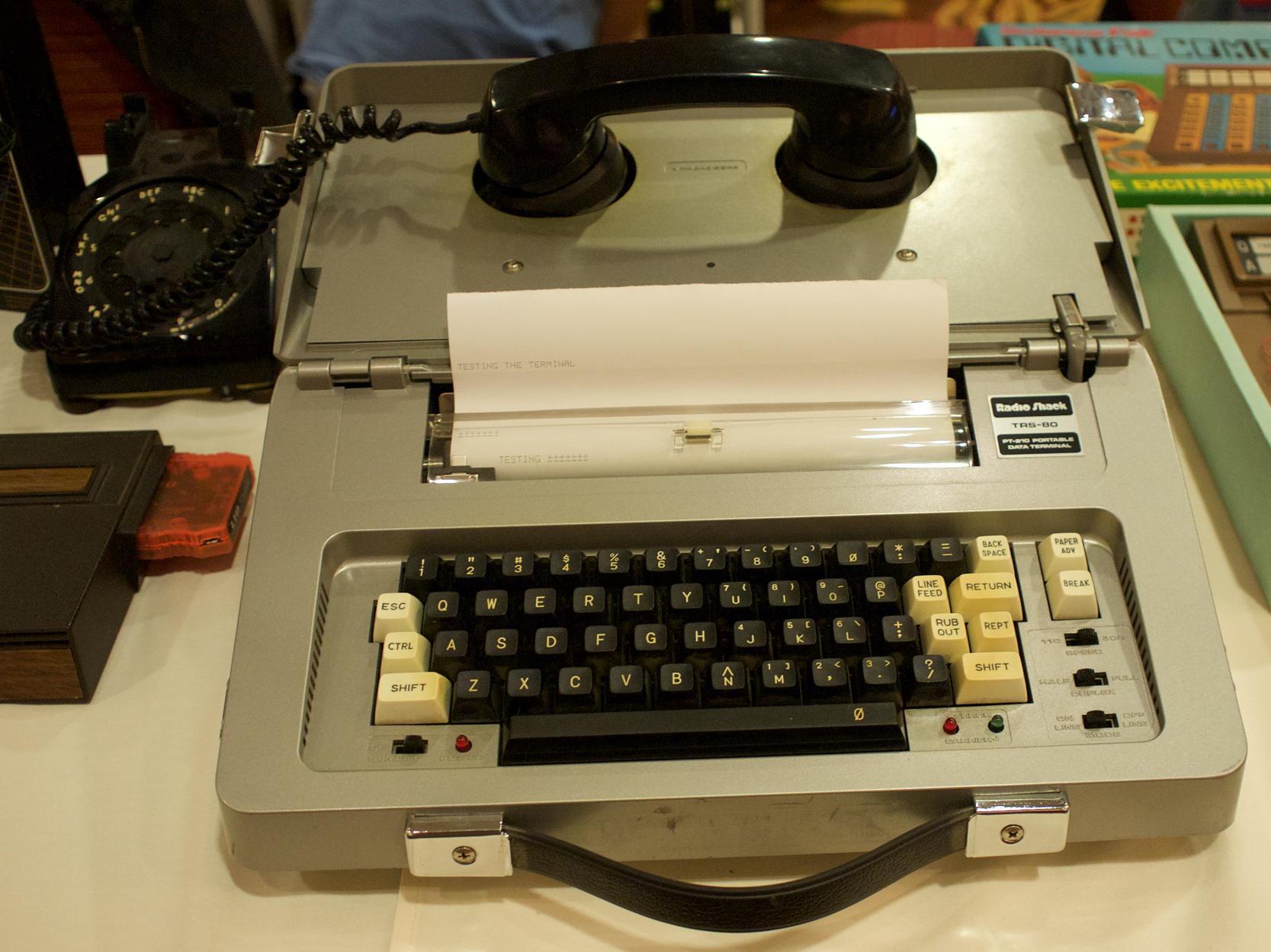 PT-210 Portable Data Terminal