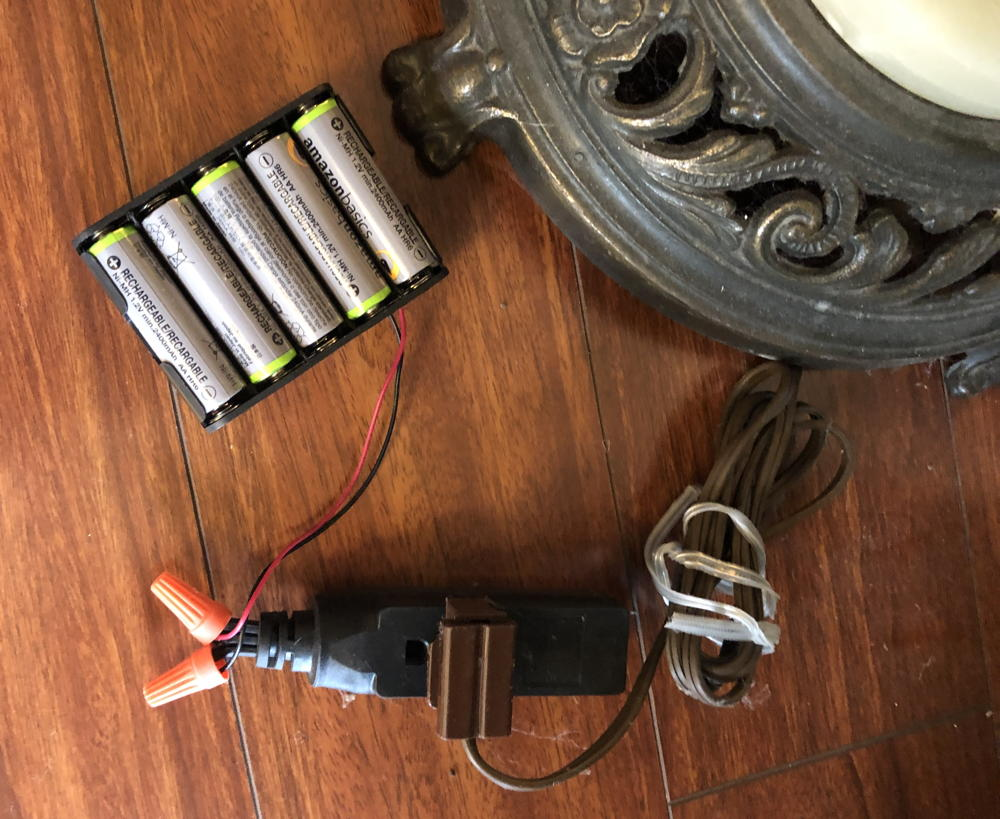 Battery pack to power jack