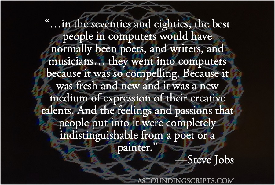 Steve Jobs: best people in computers