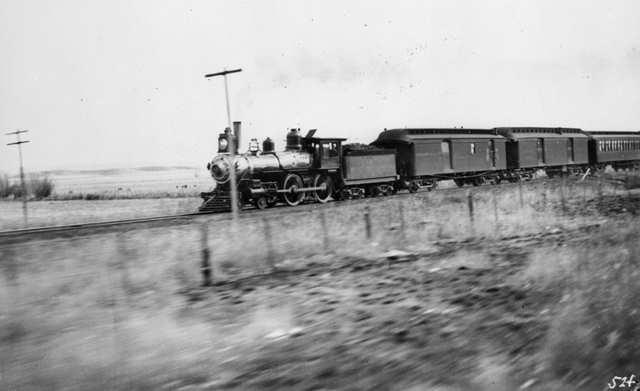 ATSF Passenger Train