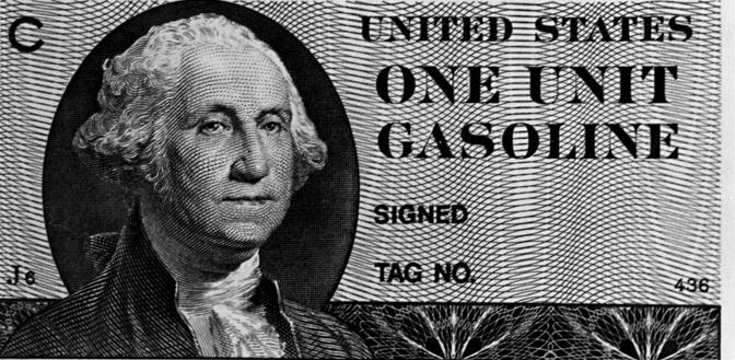 Federal gasoline coupon