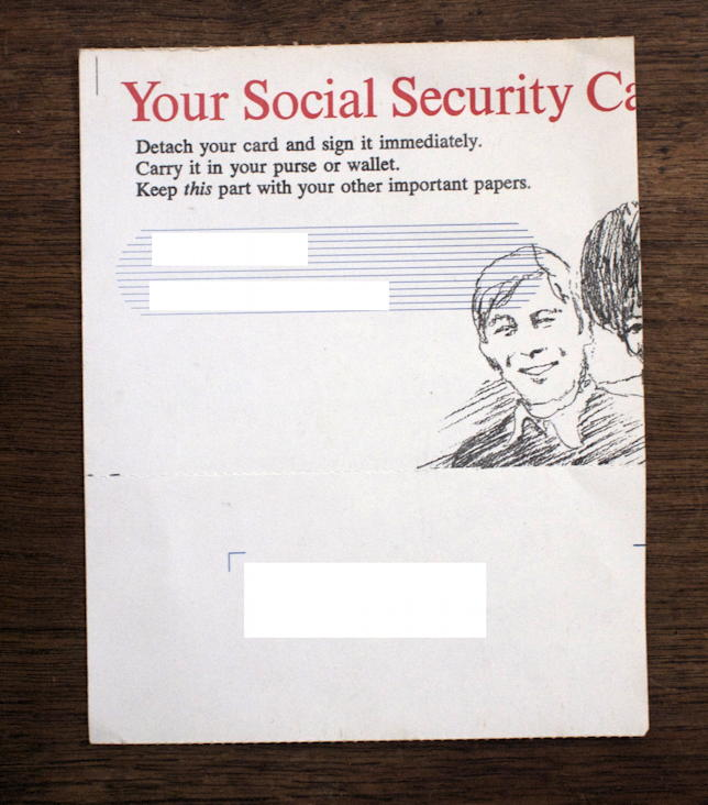 Carry your SSN in your purse or wallet