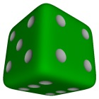 POV Six-sided die