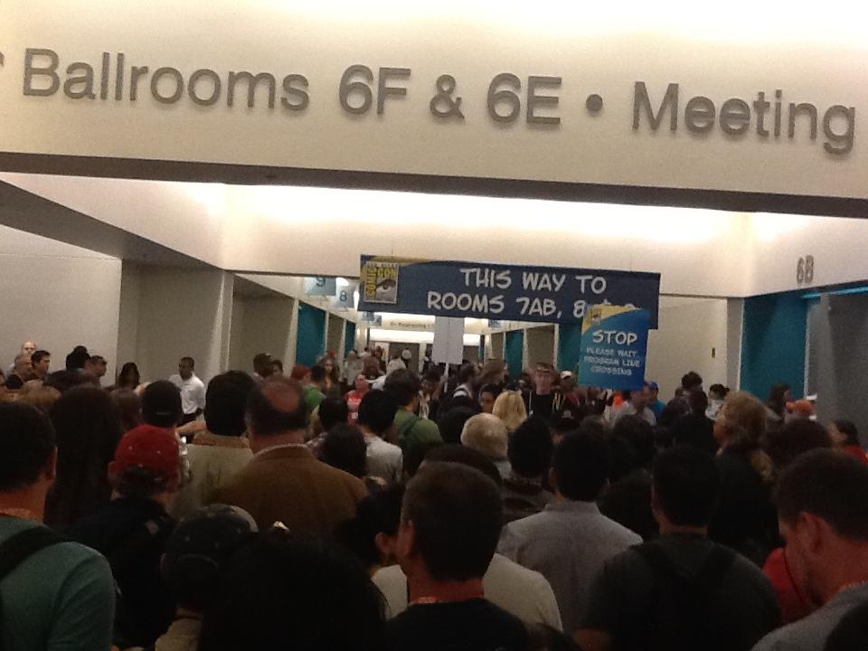 photo for Comic-Con lines