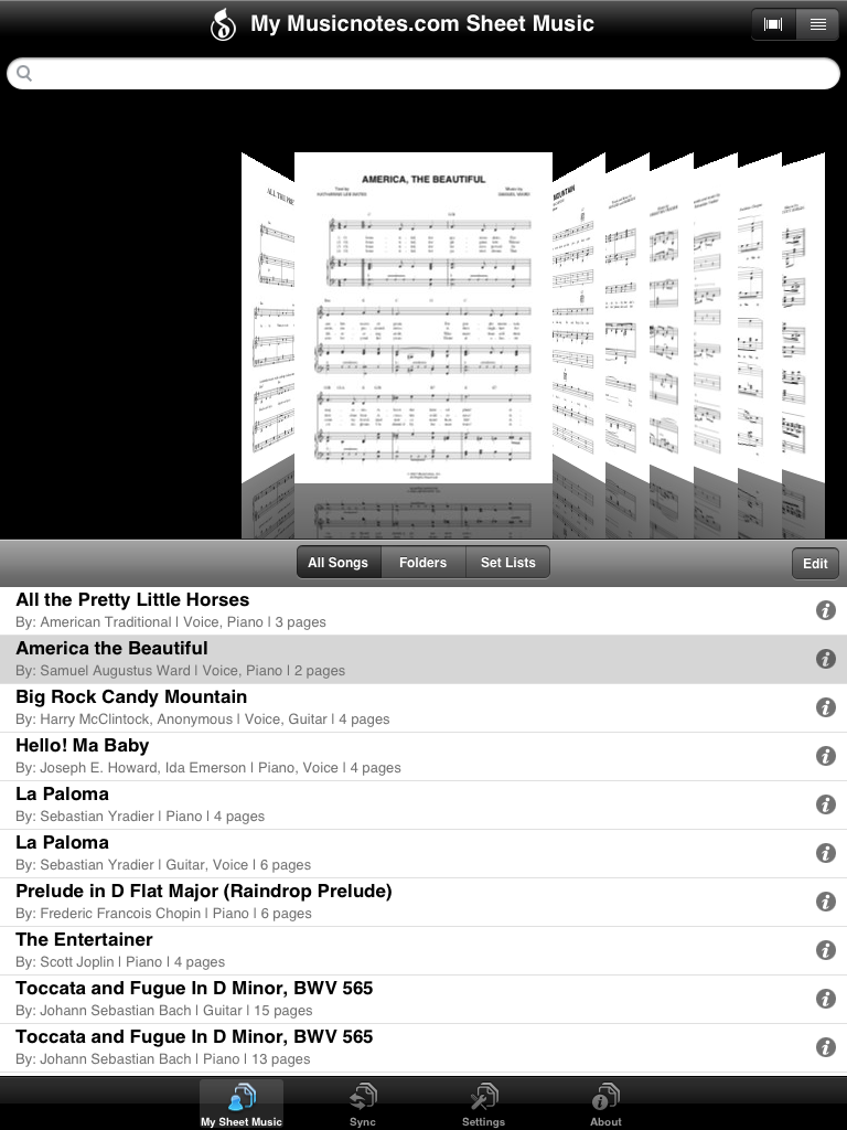 image for One great iPad music app, and one good iPad music app